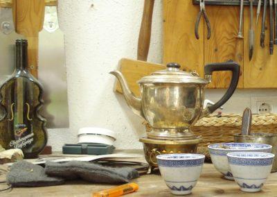 Darjeeling-Tee gibt es bei uns den ganzen Tag über