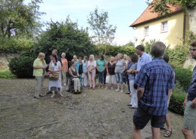 Schnupper-Klosterführung um 15.00 Uhr, hier im Äbtissinenhof