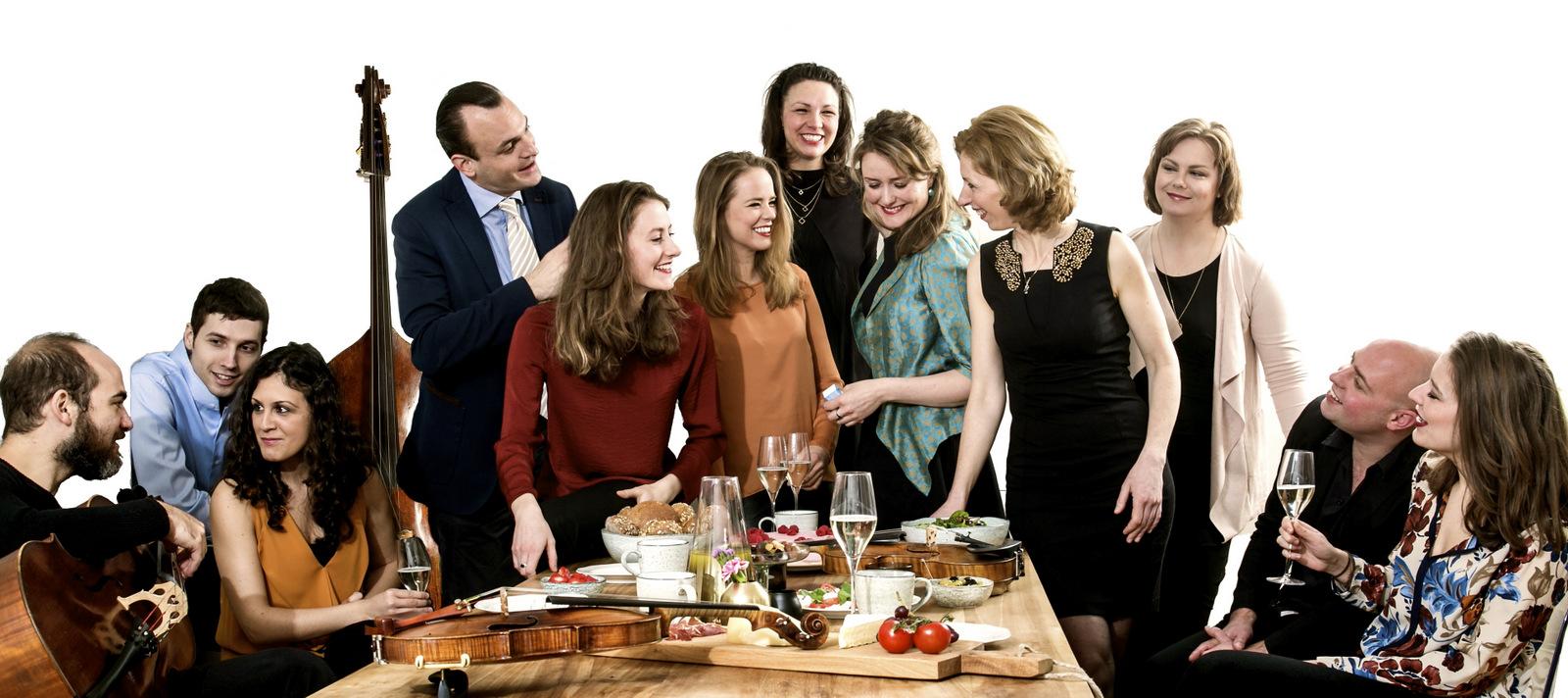 Lisa Jacobs und Die holländischen Streichsolisten im Kloster Malgarten