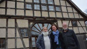 von links nach rechts: Jan Rathjen, Constanze von Laer und Dr. Andreas Wilhelm