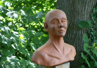 Keramiken von Gerhard Bendfeld im Kulturkloster Malgarten