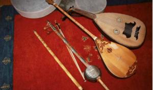 Instrumente der Altorientalischen Musiktherapie